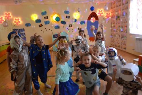 Наши будущие космонавты (апрель, 2017)